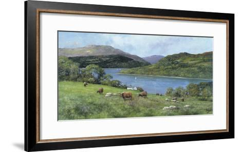 Highland Cattle-Clive Madgwick-Framed Art Print