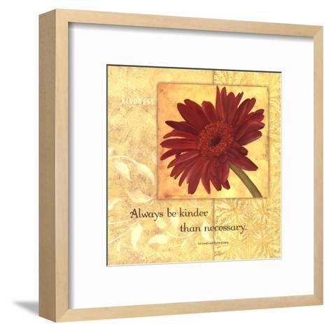 Kindness - Gerber-Stephanie Marrott-Framed Art Print