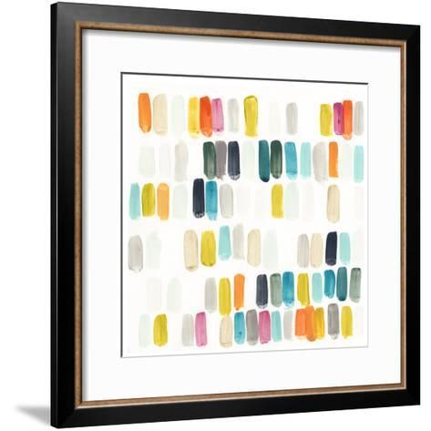 Bright Swatches I-June Erica Vess-Framed Art Print