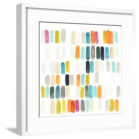 Bright Swatches II-June Erica Vess-Framed Art Print