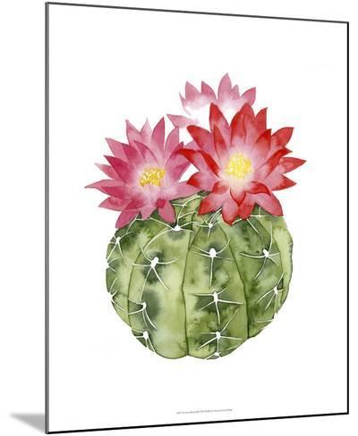 Cactus Bloom III-Grace Popp-Mounted Giclee Print