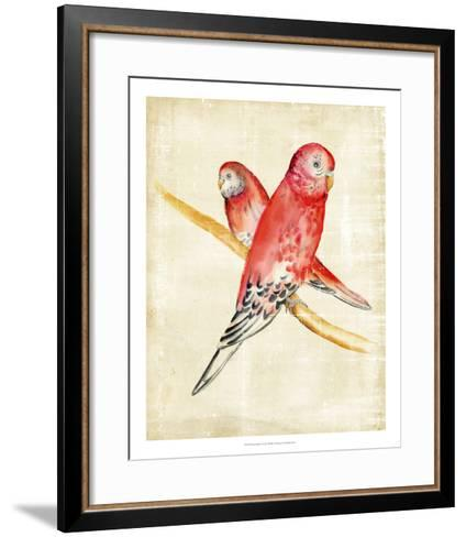 Fanciful Birds I-Chariklia Zarris-Framed Art Print