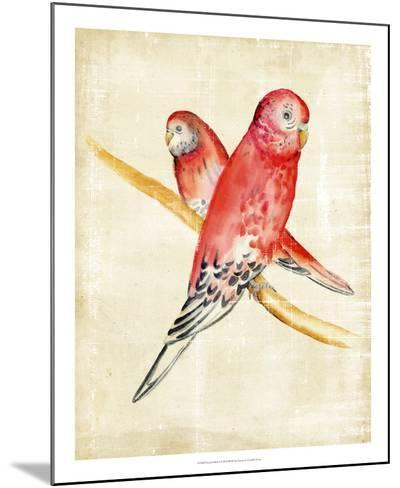 Fanciful Birds I-Chariklia Zarris-Mounted Giclee Print