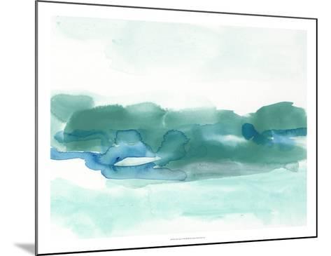 Teal Coast I-June Erica Vess-Mounted Giclee Print