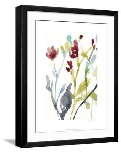Abundant Flowers I-Jennifer Goldberger-Framed Art Print