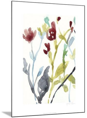 Abundant Flowers I-Jennifer Goldberger-Mounted Limited Edition