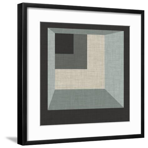 Geometric Perspective I-June Erica Vess-Framed Art Print