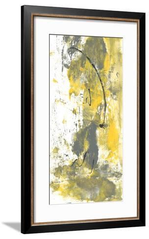 Grey Movement III-Joyce Combs-Framed Art Print