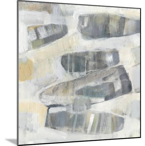 Grey Orbs I-Jennifer Goldberger-Mounted Art Print