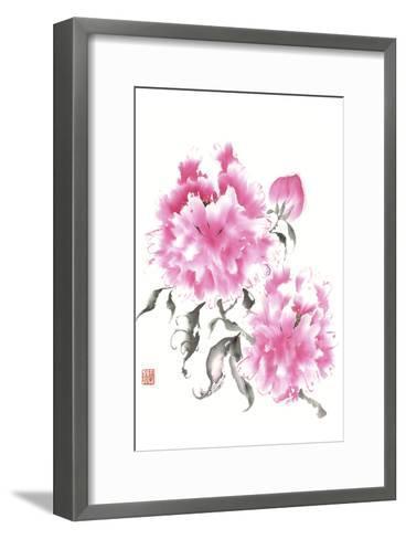 Peonie Blossoms I-Nan Rae-Framed Art Print
