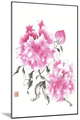 Peonie Blossoms I-Nan Rae-Mounted Art Print