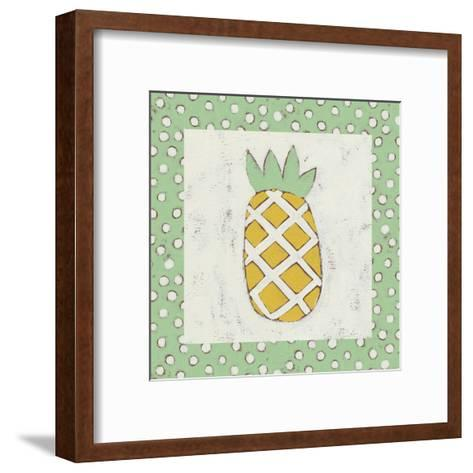 Pineapple Vacation II-Chariklia Zarris-Framed Art Print