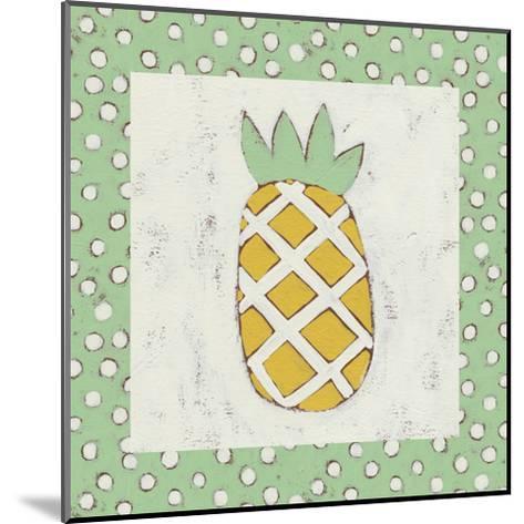 Pineapple Vacation II-Chariklia Zarris-Mounted Art Print