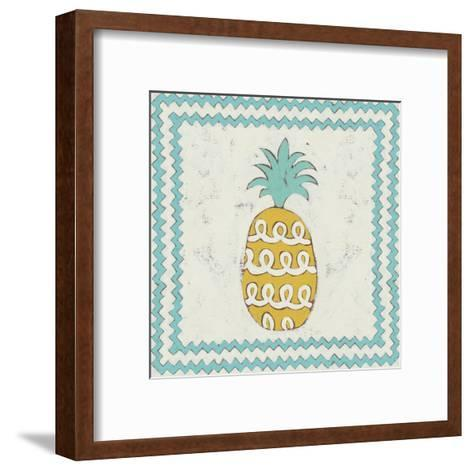 Pineapple Vacation IV-Chariklia Zarris-Framed Art Print