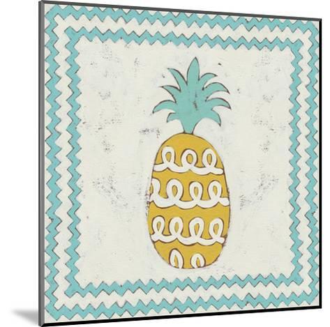 Pineapple Vacation IV-Chariklia Zarris-Mounted Art Print