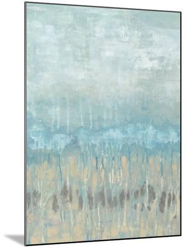 Coastline Abstraction I-Jennifer Goldberger-Mounted Art Print