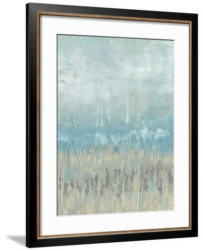 Coastline Abstraction II-Jennifer Goldberger-Framed Art Print