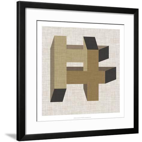 Geometric Perspective VI-June Erica Vess-Framed Art Print