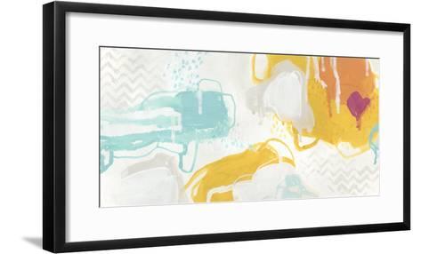 Playful Color II-June Erica Vess-Framed Art Print
