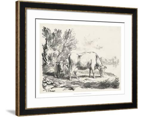 Rural Charms III-Unknown-Framed Art Print