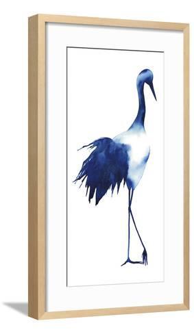 Ink Drop Crane I-Grace Popp-Framed Art Print