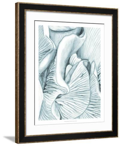 Mushroom Gills III-Naomi McCavitt-Framed Art Print