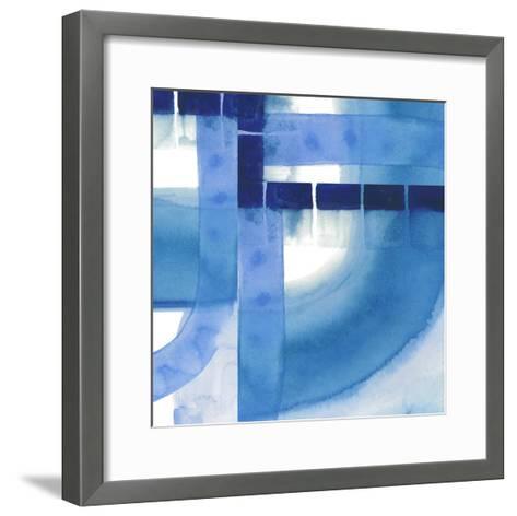Inlet Falls II-Grace Popp-Framed Art Print