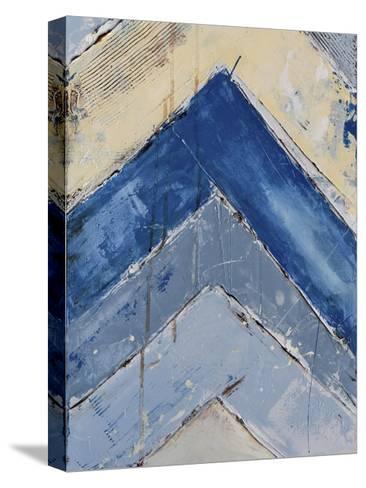 Blue Zag II-Erin Ashley-Stretched Canvas Print