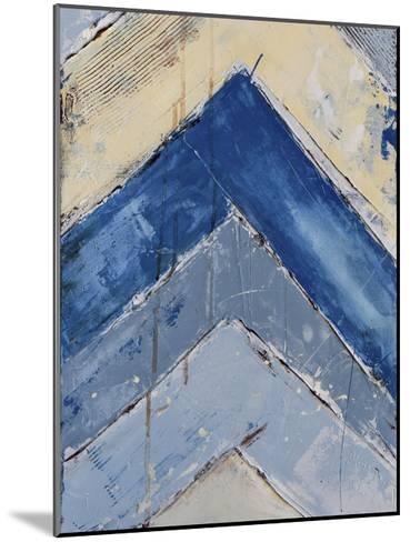 Blue Zag II-Erin Ashley-Mounted Art Print