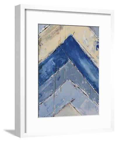 Blue Zag II-Erin Ashley-Framed Art Print