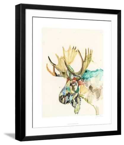Hi Fi Wildlife IV-Jennifer Goldberger-Framed Art Print