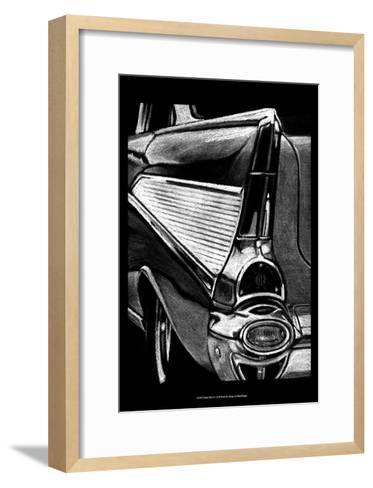 Retro Fins II-Ethan Harper-Framed Art Print