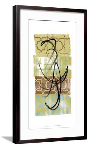 Rhythmic Motion I-Alonzo Saunders-Framed Art Print