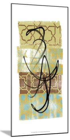 Rhythmic Motion I-Alonzo Saunders-Mounted Art Print