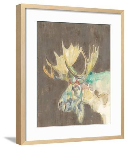 Rustic Wildlife IV-Jennifer Goldberger-Framed Art Print