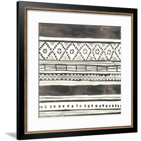 Tribal Echo IV-June Erica Vess-Framed Art Print