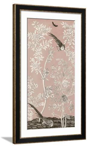 Blush Chinoiserie II-Naomi McCavitt-Framed Art Print