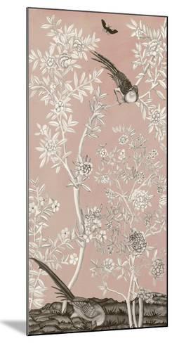 Blush Chinoiserie II-Naomi McCavitt-Mounted Giclee Print