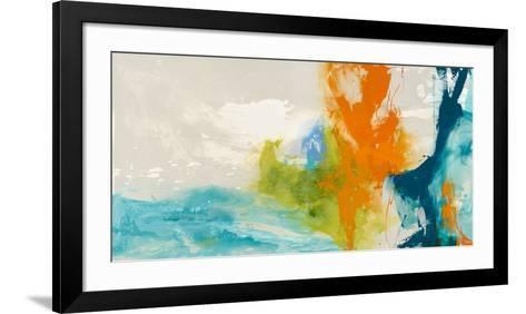 Tidal Abstract I-Sisa Jasper-Framed Art Print