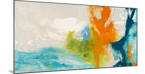 Tidal Abstract I-Sisa Jasper-Mounted Giclee Print