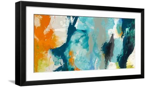 Tidal Abstract II-Sisa Jasper-Framed Art Print