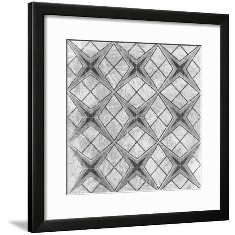 Boho Luxe Tile III-June Erica Vess-Framed Art Print