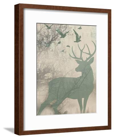 Deer Solace I-Jennifer Goldberger-Framed Art Print