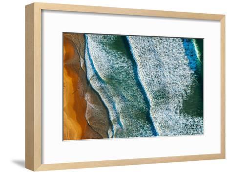 CURL CURL AERIAL-Ignacio Palacios-Framed Art Print