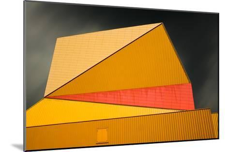 The yellow roof-Gilbert Claes-Mounted Art Print