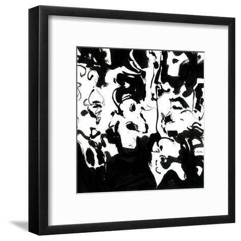 Black 4-Diane Lambin-Framed Art Print