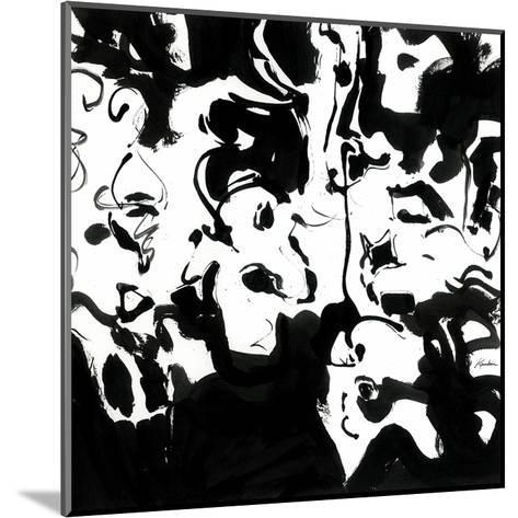 Black 4-Diane Lambin-Mounted Art Print