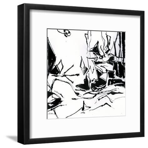 Black 6-Diane Lambin-Framed Art Print