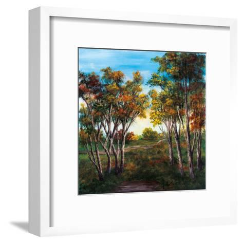 Choisir sa voie-France Cloutier-Framed Art Print