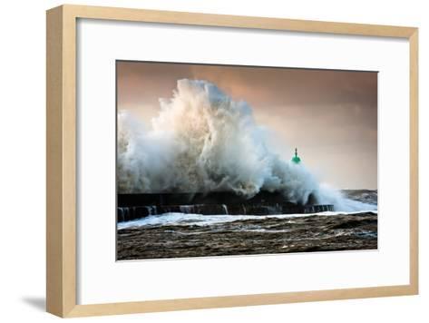 The Wall-Niels Christian Wulff-Framed Art Print